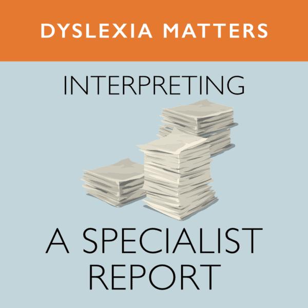 Interpreting a report