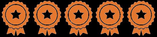 Level 5 Award Badges